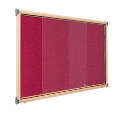 Supporting image for Premium Sliding Door EcoColour Fire Resistant Showcases