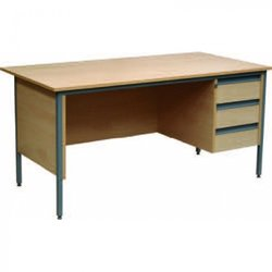 Supporting image for Classroom Package - 32 x Chairs, 16 x Tables, 1 x Teacher's Desk & Chair - Hire