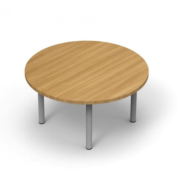 Supporting image for Colorado Pole Leg Circular Coffee Tables