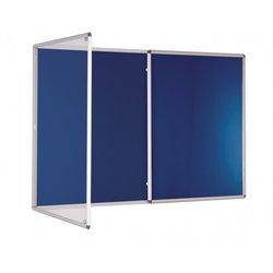 Supporting image for Standard Tamperproof Lockable Noticeboards - Double Door