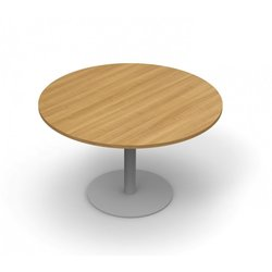 Supporting image for Alpine Essentials Round Meeting & Conference Tables with Pedestal Base