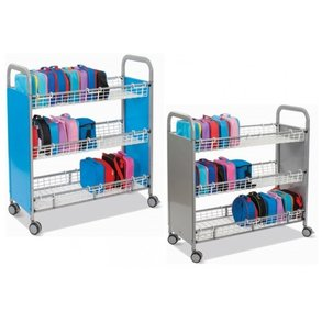 Supporting image for CalStor Classroom Trolleys - Lunchbox Trolley