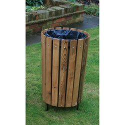 Supporting image for Circular Outdoor Bin