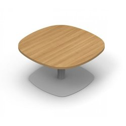 Supporting image for Colorado Squircle Coffee Table - Trumpet Base - W600