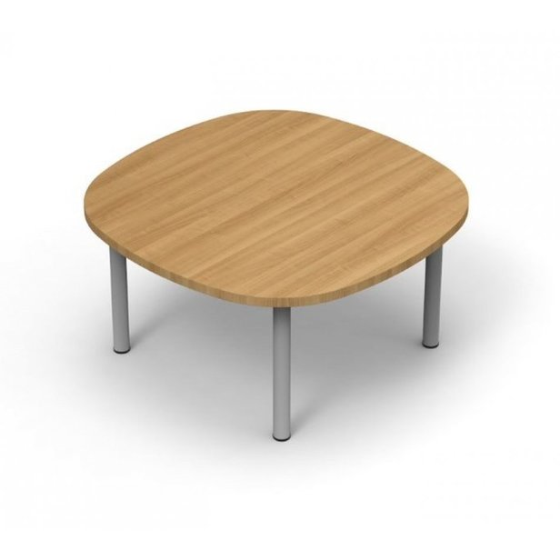 Supporting image for Colorado Squircle Coffee Table - Pole Legs - W600