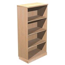 Supporting image for Alpine Essentials 4 Shelf Open Bookcase - W800