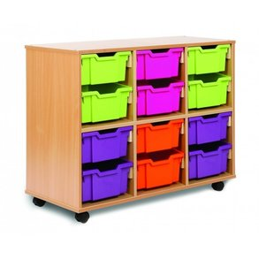 Supporting image for Allsorts 12 Deep Tray Storage Unit