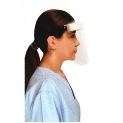 Supporting image for Top Seller - Protective Safety Clear Face Shields/Visors - Pack of 10