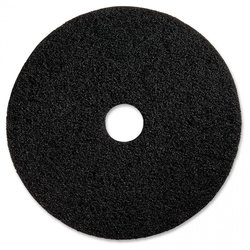 """Supporting image for TECMAN FLOOR PAD 13"""" - BLACK"""