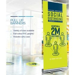 Supporting image for Social Distancing Pop Up Banner