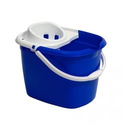Supporting image for Blue Mop Bucket With Wringer