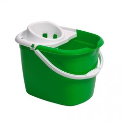 Supporting image for YP46PMB3, Green Mop Bucket With Wringer