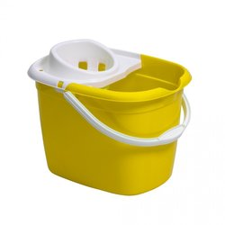 Supporting image for Yellow Mop Bucket With Wringer