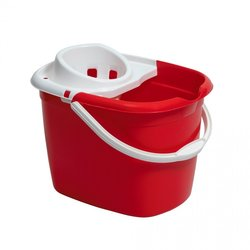 Supporting image for Red Mop Bucket With Wringer