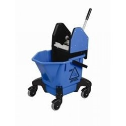 Supporting image for Blue Ladybug Kentucky Mop Bucket With Wringer