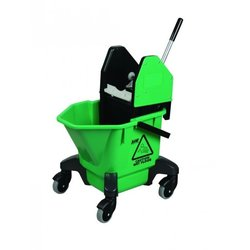 Supporting image for Green Ladybug Kentucky Mop Bucket With Wringer