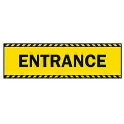 Supporting image for 'Entrance' Vinyl Laminated Floor Sticker