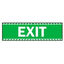 Supporting image for 'Exit' Vinyl Laminated Self Adesive Sticker Sign