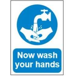 Supporting image for Correx Health & Safety Sign - Wash Hands