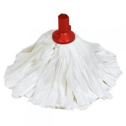 Supporting image for EXEL BIG WHITE SOCKET MOP -  HEAD RED