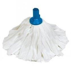 Supporting image for EXEL BIG WHITE SOCKET MOP - HEAD BLUE