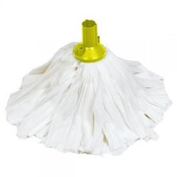 Supporting image for EXEL BIG WHITE SOCKET MOP - HEAD YELLOW