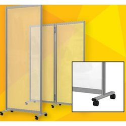 Supporting image for Pembrokeshire Mobile Screen Divider - Sneeze Screen