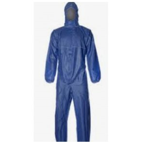Supporting image for Blue Hooded Coveralls - 2 Pack