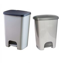 Supporting image for Springfield 40 Litre Pedal Bin - Grey - Single Pack