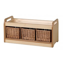 Supporting image for Creative! Low Mirror Play Unit with Baskets