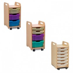 Supporting image for Creative! 1 Column Tray Storage Unit (730mm Height)