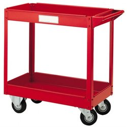 Supporting image for 2 Tier PPE Janitorial Trolley