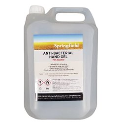 Supporting image for Springfield Peach Scented 75% Alcohol Gel - 5L