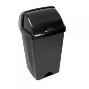 Supporting image for 50L Roll Top Bin - Black