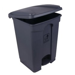 Supporting image for Heavy Duty 45 Litre Pedal Operated Bin Grey