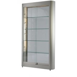 Supporting image for Tower Display case with sliding door