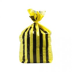 Supporting image for Yellow Tiger Stripe Bags - Medium Duty - 457x725x810