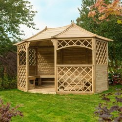 Supporting image for Hampton Outdoor Wooden Learning Area