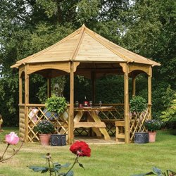 Supporting image for Windsor Outdoor Wooden Learning Area