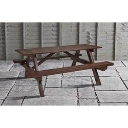 Supporting image for Outdoor Recycled Picnic Bench