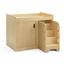 Supporting image for Baby Change Unit with cupboard & set of safety steps