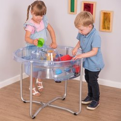 Supporting image for Circular Sand & Water play table
