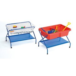 Supporting image for Waterfall sand & water tray - Red