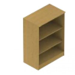 Supporting image for Bookcase 2 Shelves, tall