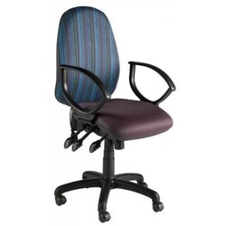 Supporting image for Task Chair with Chrome Base and Folding Arms