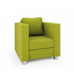 Supporting image for Azure Armchair
