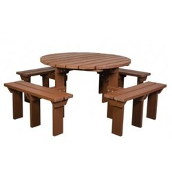 Supporting image for Adult Olympic Picnic Bench - 8 Seater