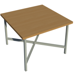 Supporting image for School Work Bench - Flush - No Cupboard