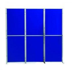 Supporting image for Lightweight 6 Panel Pole & Panel Display System
