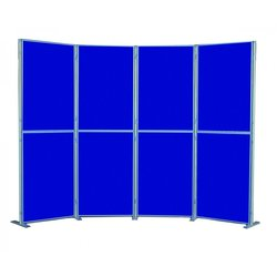 Supporting image for Lightweight 8 Panel Pole & Panel Display System